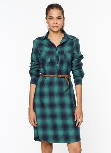Ekoseli Gömlek Elbise-Lee Cooper